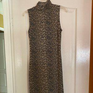 Antistar bodycon leopard print dress